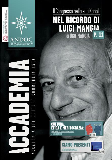 Il Congresso nella sua Napoli, nel Ricordo di Luigi Mangia